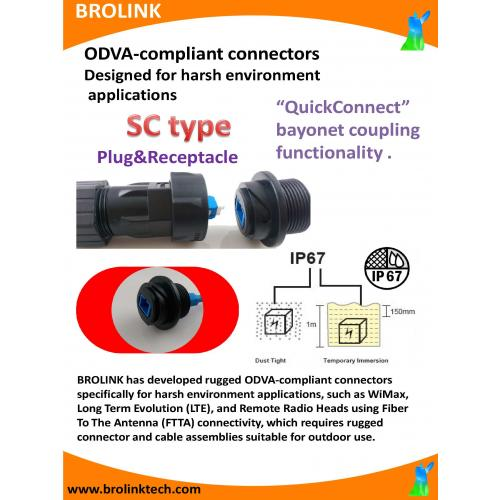 FTTA ODVA SC type Plug
